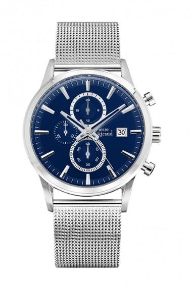 Ceas Pierre Ricaud P97201.5115CH, cronograf, inox, carcasa 42mm