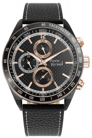 Ceas Pierre Ricaud P97237.K254QF, Multifunction, carcasa 47mm