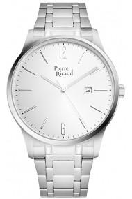 Ceas Pierre Ricaud P97241.5153Q, inox argintiu, carcasa 42mm