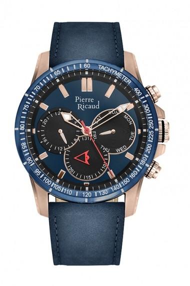 Ceas Pierre Ricaud P97251.9415QF, Multifunction, carcasa 45mm