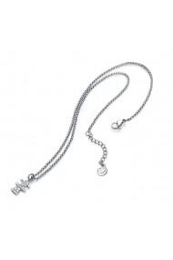 Colier Viceroy 90030C01010 inox argintiu cristale