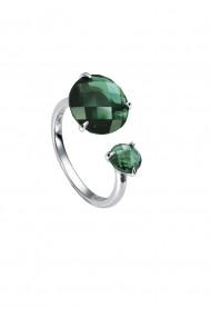 Inel Viceroy 9013A012-52 diametru 16.5mm argint cristal verde