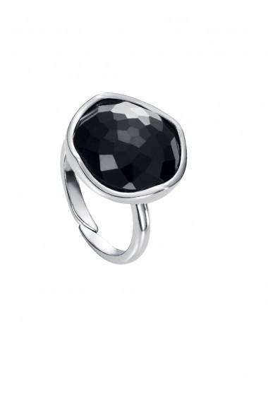 Inel Viceroy 9011A012-55 diametru 16.5mm argin cristal negru