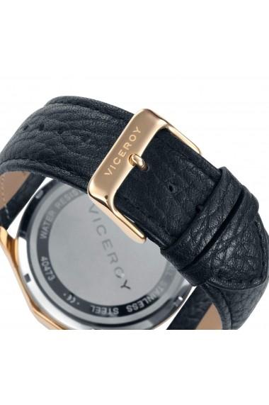 Ceas Viceroy cod 40473-07, carcasa inox auriu, 46mm