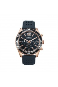 Ceas Viceroy cod 40497-55, carcasa inox Rose Gold, 45mm, curea silicon