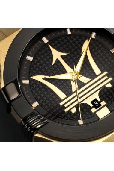 Ceas Maserati Potenza R8853108006, inox auriu, carcasa 42mm