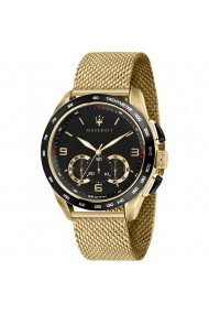 Ceas Maserati Traguardo R8873612010 inox auriu carcasa 45mm cronograf