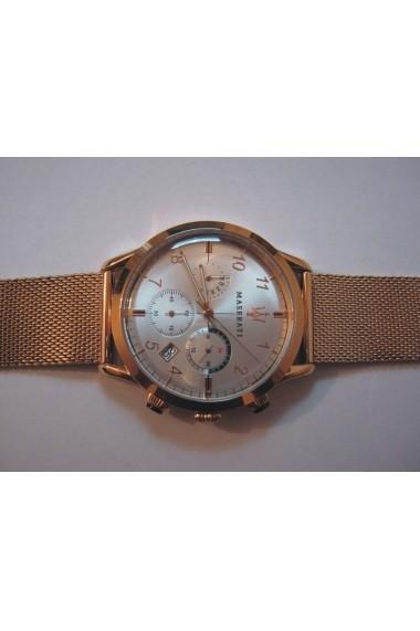 Ceas Maserati Ricordo R8873625002 inox Rose Gold carcasa 42mm cronograf