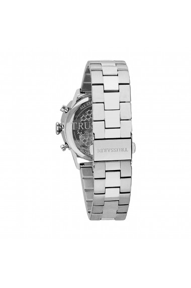 Ceas Trussardi T-Evolution R2453123003, inox, carcasa 40mm, Dual Time