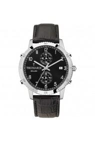 Ceas Trussardi T-Style R2471617006, carcasa inox, 44mm, curea neagra piele
