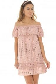 Rochie scurta Roh Boutique - DR3866 roz