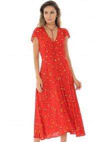 Rochie midi Roh Boutique DR3880 Floral