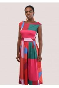 Rochie midi Closet London ROH - DR3881 multicolor