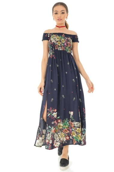 Rochie lunga Roh Boutique maxi ROH - DR3805 florala