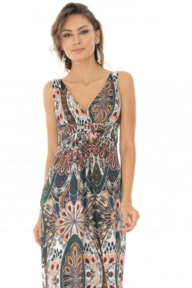 Rochie lunga Roh Boutique DR3906 Print
