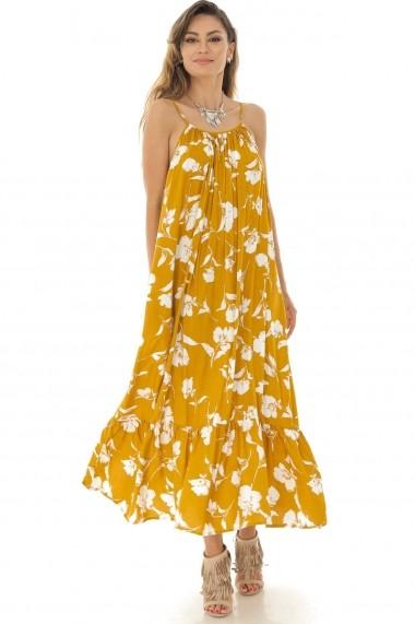 Rochie lunga Roh Boutique ROH - DR3878 Floral