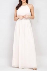 Rochie lunga de seara Roh Boutique DR3947 roz pal