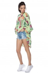 Bluza Roh Boutique oversize, verde- BR2305 verde