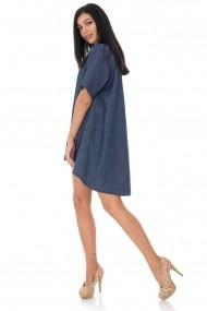 Bluza Roh Boutique oversize, hi-low - Denim - Roh - BR2317 denim