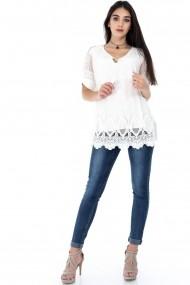 Bluza Roh Boutique BR1862 Crem