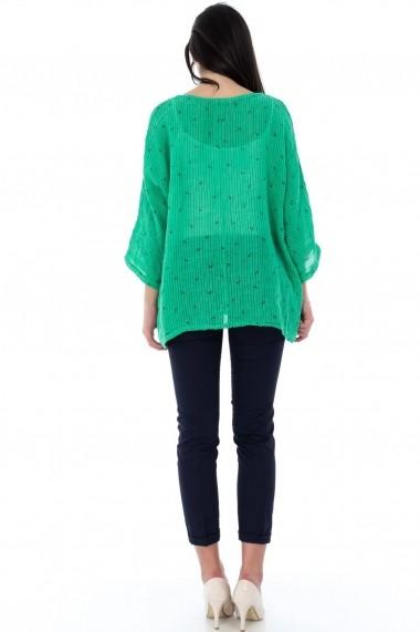 Bluza Roh Boutique verde, ROH, oversize - BR1858 verde One Size