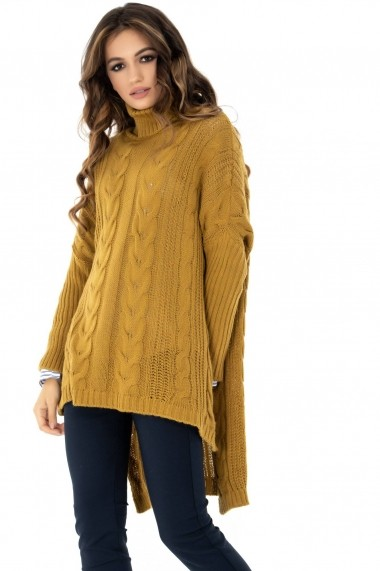 Pulover Roh Boutique oversize - DR3643 mustar