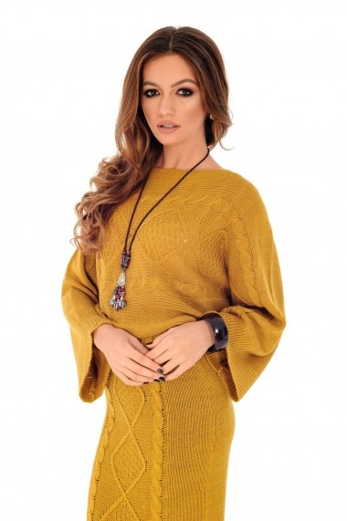 Compleu Roh Boutique DR3678 Mustar