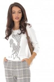 Bluza Roh Boutique BR2208 Alb