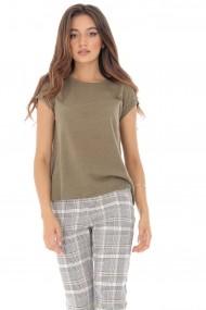 Tricou Roh Boutique BR2134 Gri-Bej