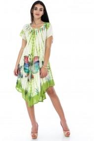 Rochie de zi Roh Boutique - DR3477 verde|multicolora
