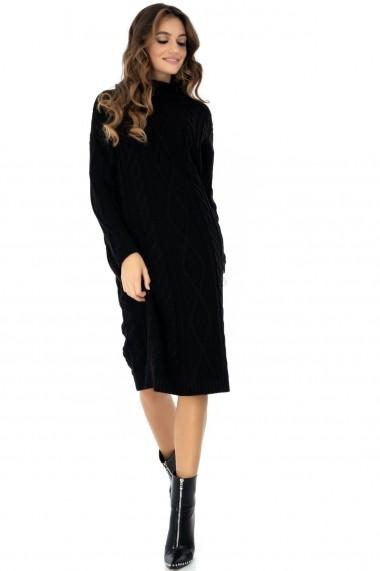 Rochie de zi Roh Boutique DR3625 Neagra