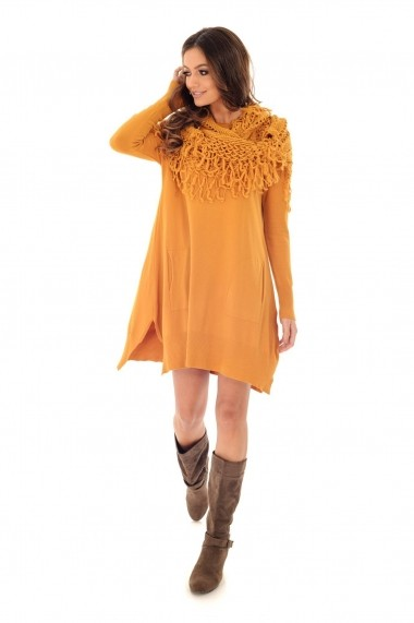 Tunica Roh Boutique oversized - DR3670 galbena