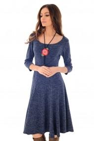 Rochie de zi Roh Boutique DR3669 bleumarin