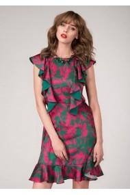Rochie de seara Roh Boutique - DR3455 verde|roz