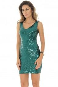 Rochie scurta Roh Boutique DR3698 Verde
