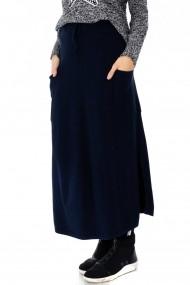 Fusta lunga Roh Boutique - FR411 bleumarin
