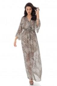 Rochie Roh Boutique eleganta petrecuta, curea in talie- - Maro - ROH - DR4180 maro