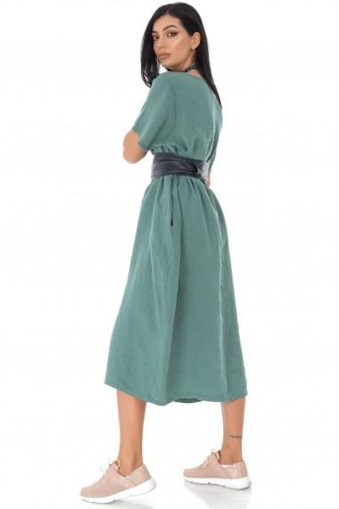 Rochie midi Roh Boutique chic oversize, din in DR4189 kaki