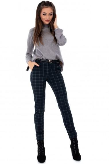Pantaloni skinny Roh Boutique - TR292 bleumarin