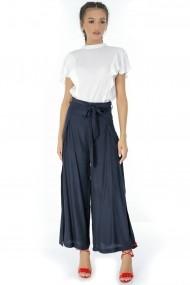 Pantaloni largi Roh Boutique TR262 Bleumarin