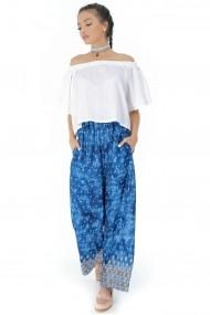 Pantaloni largi Roh Boutique TR266 Print