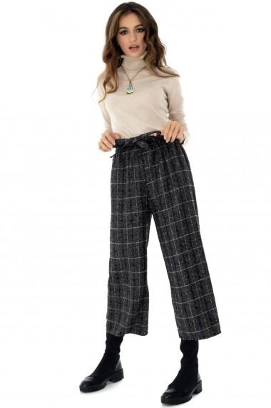 Pantaloni largi Roh Boutique - TR290 gri