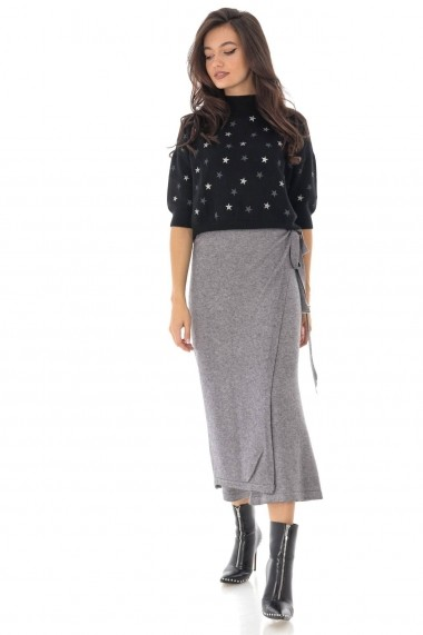 Fusta-pantalon Roh Boutique ROH - TR344 gri