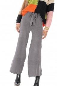 Pantaloni largi Roh Boutique TR340 gri