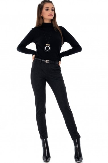 Pantaloni drepti Roh Boutique - TR293 bleumarin