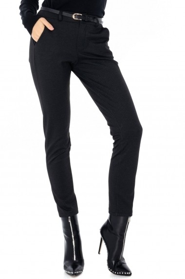 Pantaloni drepti Roh Boutique TR293 Bleumarin