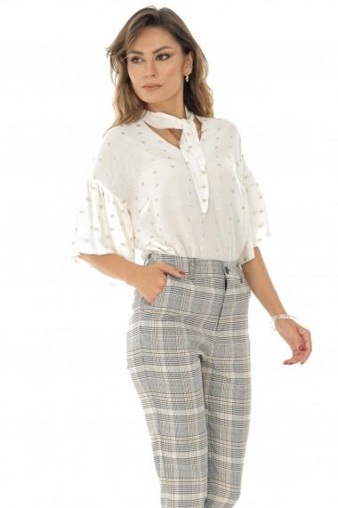 Pantaloni trei sferturi Roh Boutique TR321 Carouri