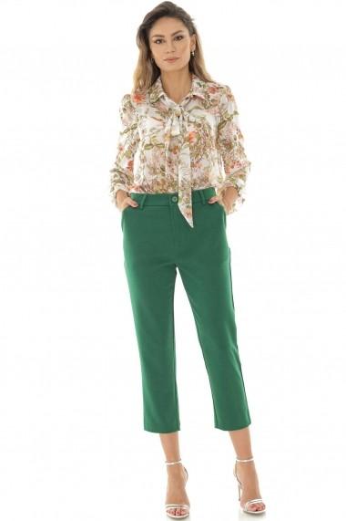 Pantaloni trei sferturi Roh Boutique TR320 Verde