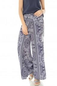 Pantaloni largi Roh Boutique TR309 print