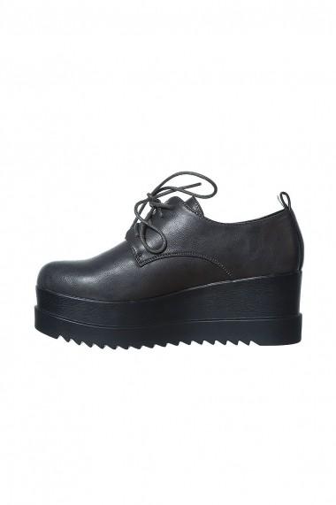 Pantofi Rammi gri fumuriu cu talpa usoara si masiva